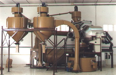 TTA-140/MI Natural and Torrefacto Coffee Roaster